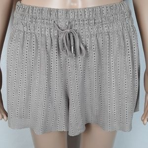 Zara faux suade shorts size small